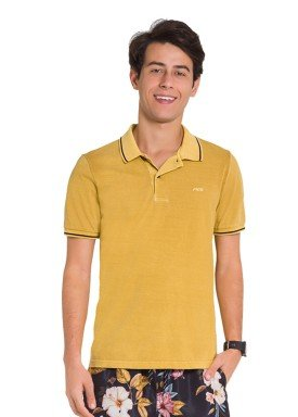 camisa polo juvenil masculina amarelo fico 48423 1