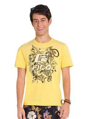 camiseta juvenil masculina adventure amarelo fico 48411 1