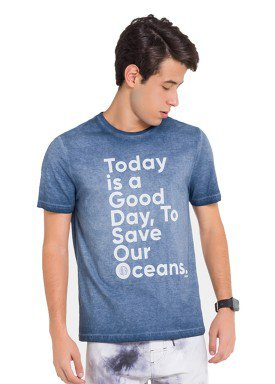 camiseta juvenil masculina oceans marinho fico 48416 1