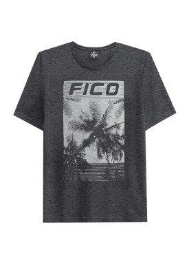 camiseta juvenil masculina palmeiras mescla fico 48417