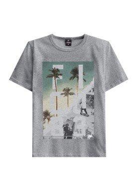 camiseta juvenil masculina skate mescla fico 48408