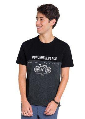 camiseta juvenil masculina wonderful preto fico 48410 1