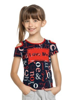 blusa infantil feminina love marinho elian 251336 1