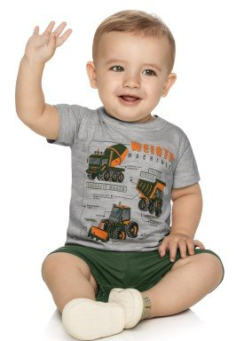 conjunto bebe masculino machines mescla elian 20864 1