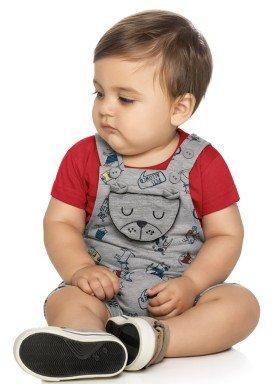 conjunto bebe masculino pets mescla elian 20859 1