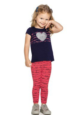 conjunto infantil feminino heart marinho elian 231350 1