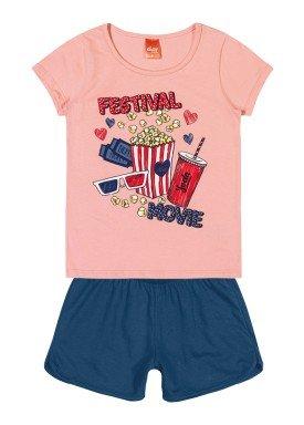 conjunto infantil feminino movie rosa elian 251313 1