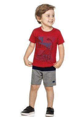 conjunto infantil masculino adventure vermelho elian 221013 1