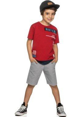 conjunto infantil masculino nautical vermelho elian 24986 1