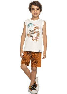 conjunto infantil masculino savana natural elian 24974 1
