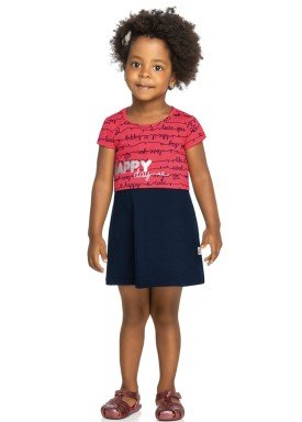 vestido infantil feminino happy marinho elian 231347 2