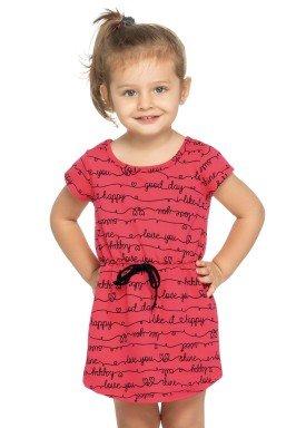 vestido infantil feminino love vermelho elian 231346 1