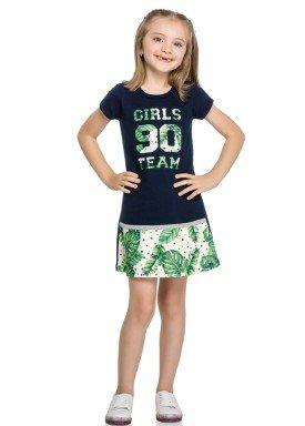 vestido infantil feminino team marinho elian 251321 3