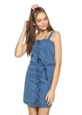 vestido juvenil feminino jeans azul elian beats 27962 1