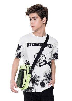 camiseta juvenil masculina game branco fakini 2851 1