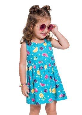 vestido infantil feminino frutas azul brandili 24204 1
