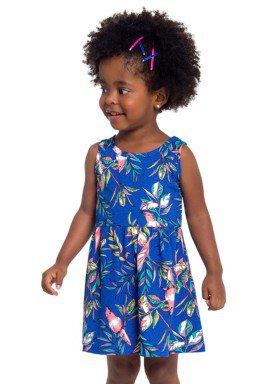 vestido infantil feminino nature azul brandili 24398 1
