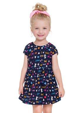 vestido infantil feminino sweet marinho brandili 24207 1