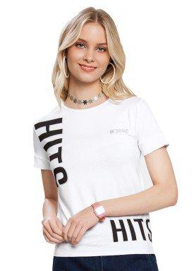 blusa juvenil feminina be brave branco lunender hits 36047 1