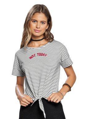 blusa juvenil feminina listrada branco lunender hits 46915 1