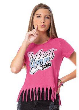 blusa juvenil feminina whatever rosa rezzato 30707 1