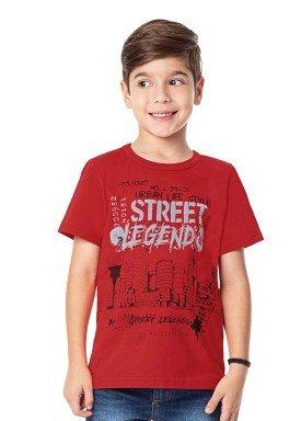 camiseta infantil masculina legends vermelho alenice 47012 1