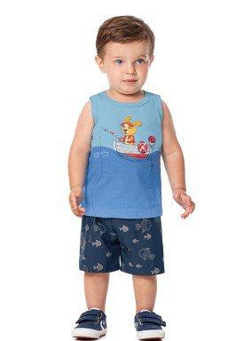 conjunto bebe masculino pescaria azul alenice 40984 1