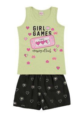 conjunto infantil feminino games bege alenice 47035 1