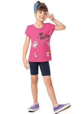 conjunto infantil feminino routine rosa alenice 47037 1