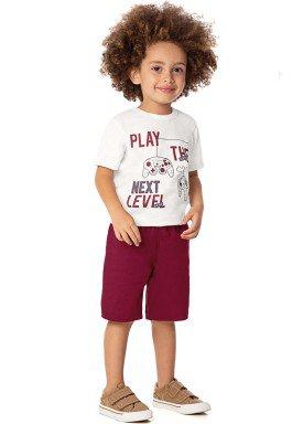 conjunto infantil masculino videogame natural alenice 44315 1
