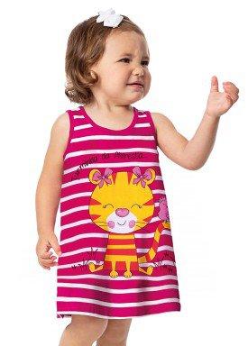 vestido bebe feminino floresta rosa alenice 41022 1