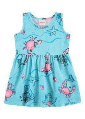 vestido bebe feminino oceano azul alenice 41021