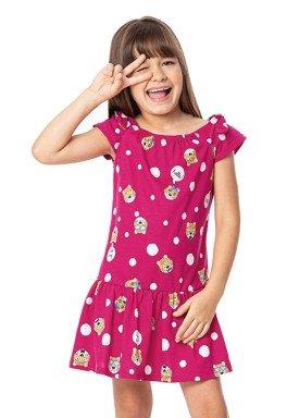 vestido infantil feminino hello rosa alenice 47044 1