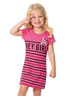 vestido infantil feminino heygirl rosa alenice 44351 1