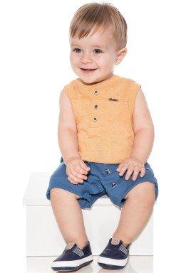 macacao banho de sol bebe menino barcos azul paraiso 9858 1