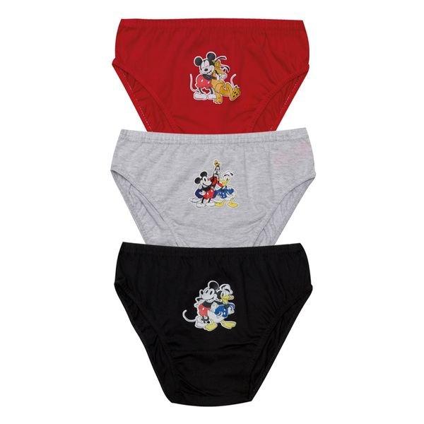 kit cueca 3pc s infantil masculina disney evanilda 02030008