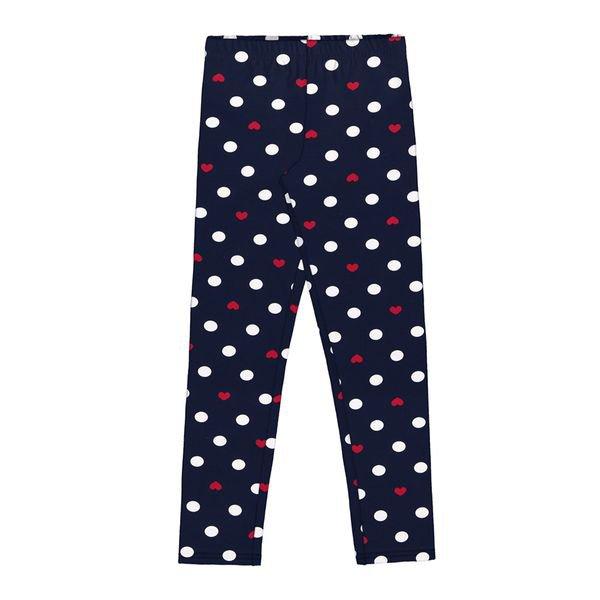 calca legging infantil feminina bolinhas marinho alakazoo 39644 1