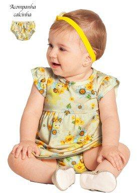 vestido bebe feminino abelhinhas offwhite alakazoo 39540 1