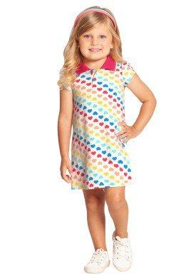 vestido infantil feminino coracoes offwhite alakazoo 39581 1