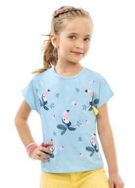 blusa infantil feminina tucanos azul kamylus 10182 1