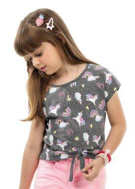 blusa infantil feminina unicornios mescla kamylus 10189 1