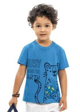 camiseta infantil masculina earth azul kamylus 12017 1