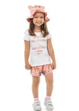 conjunto infantil feminino protetoras branco kamylus 10166 1