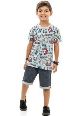 conjunto infantil masculino downtown mescla kamylus 12053 1