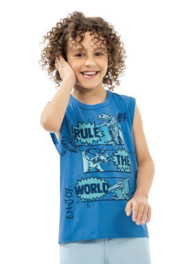 regata infantil masculina dinossauros azul kamylus 12050 1