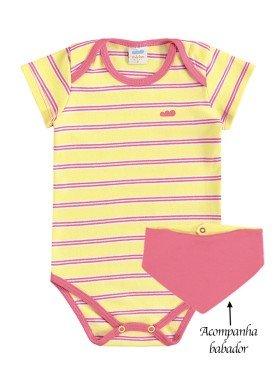 body bebe feminino babador amarelo marlan 40401 1
