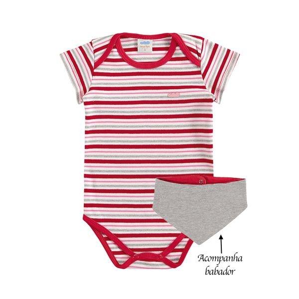body bebe feminino babador vermelho marlan 40401 1