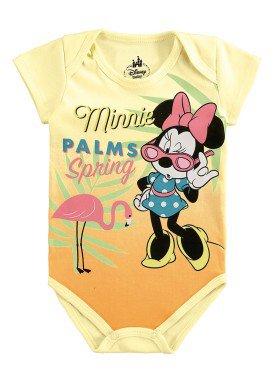 body bebe feminino minnie amarelo marlan d4155