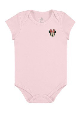 body bebe feminino minnie rosa claro marlan d5411