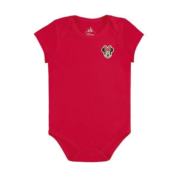 body bebe feminino minnie vermelho marlan d5411